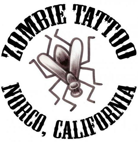 Zombie Tattoo Villain Arts