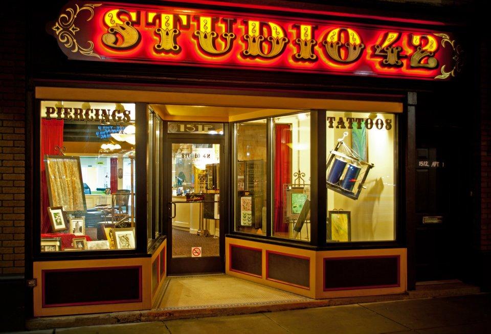 Studio 42 tattoos piercings villain arts for Studio 42 tattoo