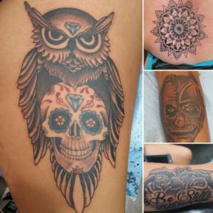 Tony traywick villain arts for Tattoo convention 2017 denver