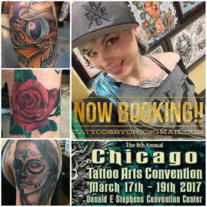 Kimberly tattoo parton villain arts for Tattoo convention 2017 denver