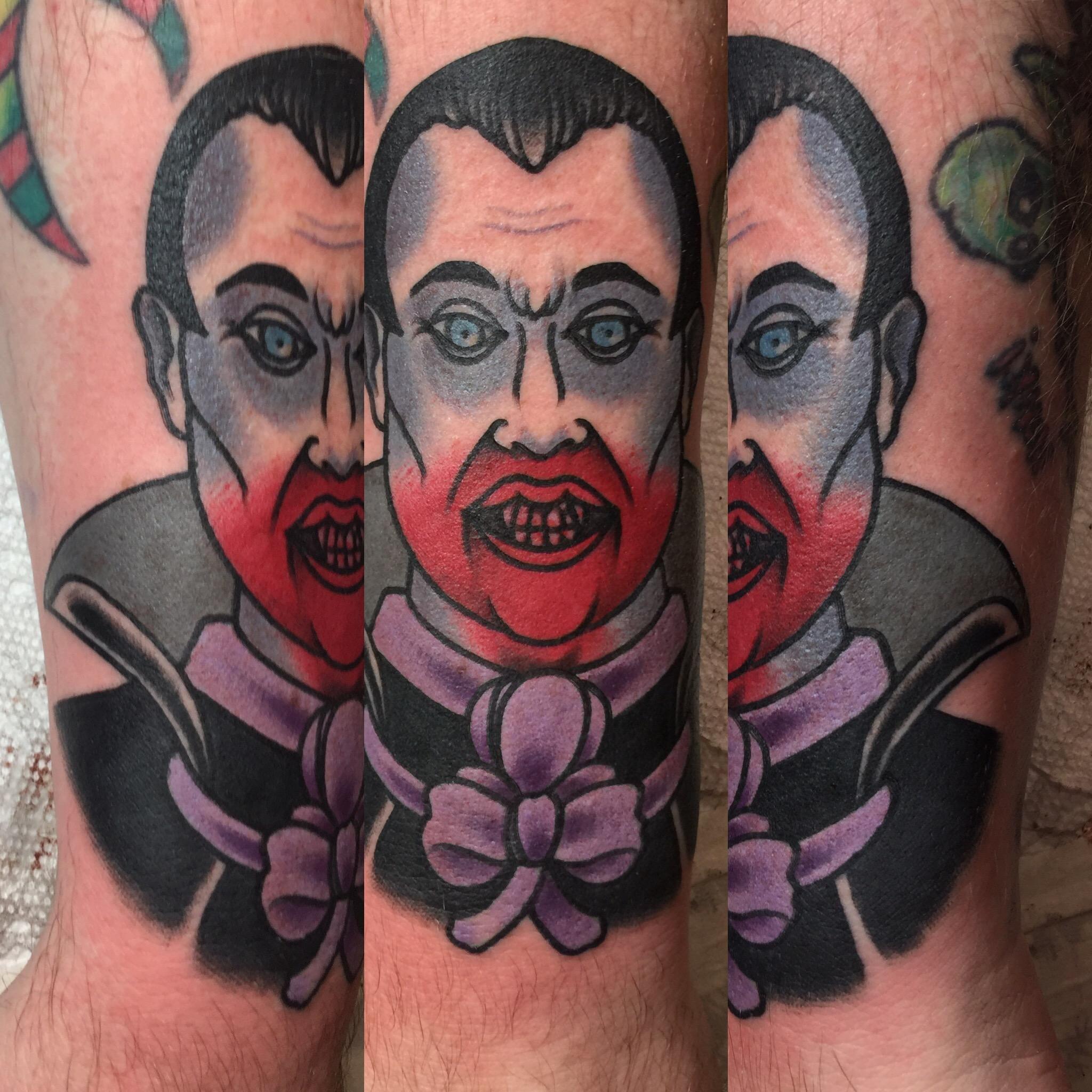 Jeremy mcnish villain arts for Tattoo convention 2017 denver