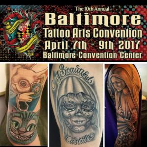Michael arteaga villain arts for Tattoo convention 2017 denver