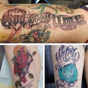 Peter miller villain arts for Tattoo convention 2017 denver