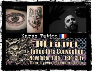 Karas tattoo villain arts for Tattoo convention 2017 denver